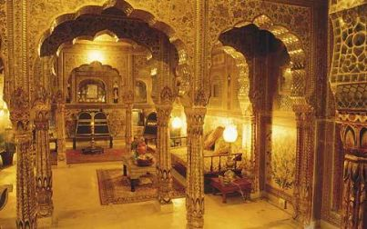 Samode Haveli Hotel, Rajasthan, (Golden Triangle)